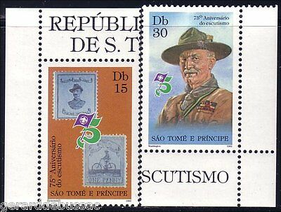 Sao Tome Scouts Baden Powell MNH ** (50)