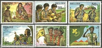 Belize Scouts Baden Powell MNH ** (70)