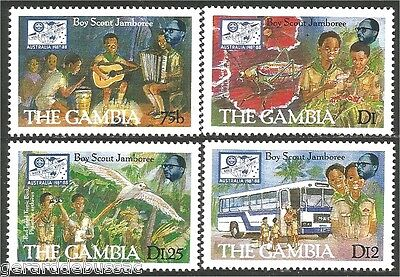 Gambia Scouts  Baden Powell MNH ** (75)