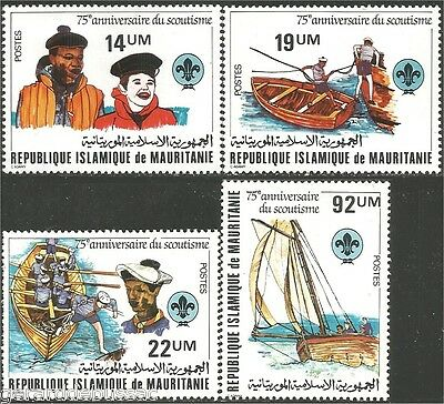 Mauritania Scouts  Baden Powell MNH ** (88)