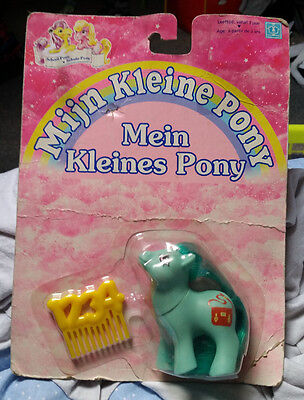 MLP pony poney G1 Netherlands exclusive versions of Baby Schoolbag MOC