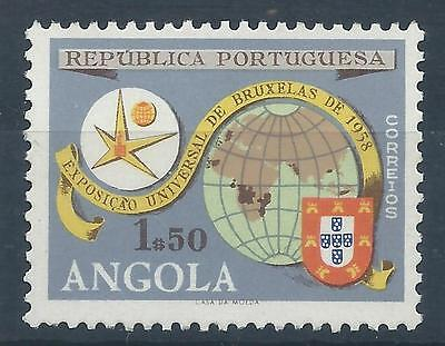 ANGOLA 1958 SG533 Brussels International Exhibition Mint MNH