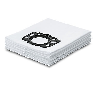 Karcher Genuine Fleece Filter Vacuum Bags (pack of 4) Suitable for WD5.200 MP