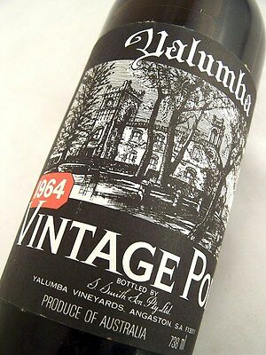 1964 YALUMBA Vintage Port Isle of Wine