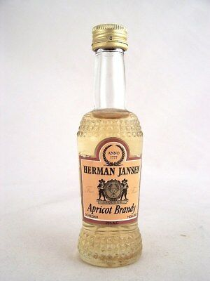 Miniature circa 1974 HERMAN JANSEN APRICOT BRANDY Isle of Wine