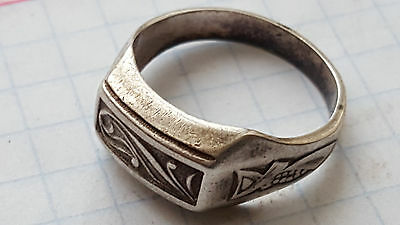 Silver ring comes with 60 years of USSR