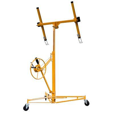Drywall Lift Tool Panel Lifter Hoist Heavy Duty Rolling Panel Metal Construction