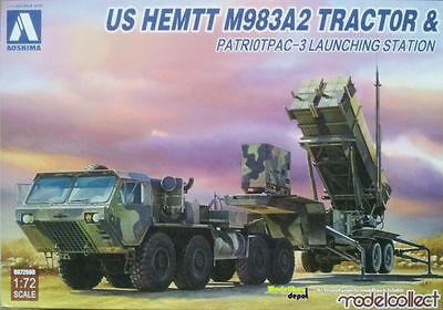 Modelcollect / Aoshima 72080 US HEMTT M983A2 Tractor with Pac-3   1:72
