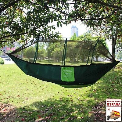 Hamaca jardin camping MOSQUITERA Nylon 4 COLORES Hammock Outdoor Camping Travel