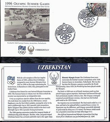Uzbekistan First Day Cover 1996 Olympic Games