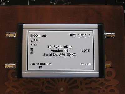 RF Signal Generator Calibrated 35MHz to 4.4GHz via USB over 1700+ Sold