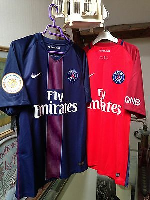 Lot maillot football PSG taille M neuf
