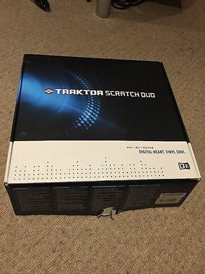 Native Instruments Traktor Scratch Duo Boxed With Control Discs