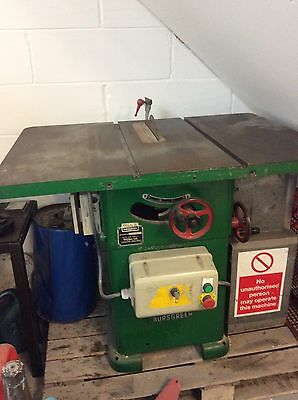 Wadkin Table Saw with Extension Table