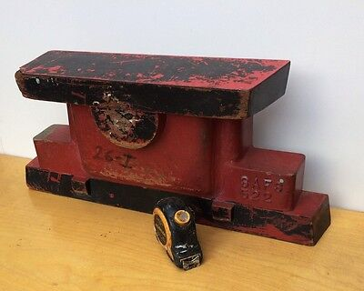 Vintage Mid-Century + Wood + Industrial Foundry Casting Mold