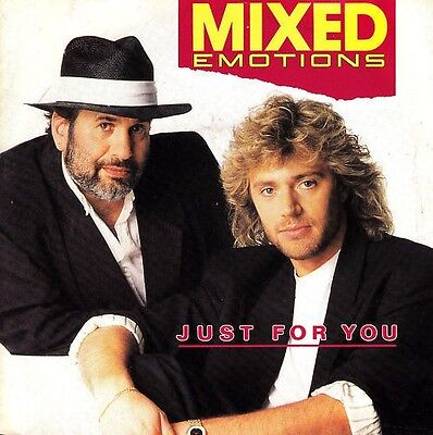 """Mixed Emotions - Just For You *7"""" Single*EMI 1 47379 7"""