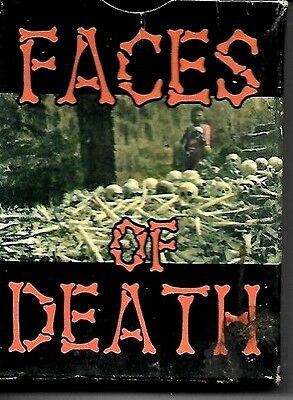 Mother Productions Faces Of Death Trading Cards 40 Card Set Boxed 1994