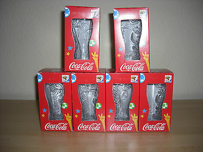 coca cola glas gl ser 6 st ck von wm s dafrika 2010 neu. Black Bedroom Furniture Sets. Home Design Ideas