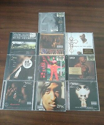 2Pac CD Collection  x10