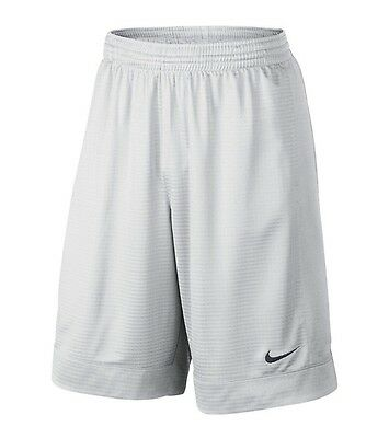 NWT Men's Nike Fastbreak Performance Basketball Shorts Solid White