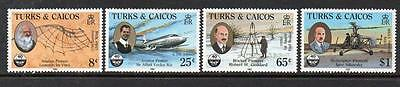 Turks & Caicos MNH 1985 40th Ann. of International Civil Aviation Organization