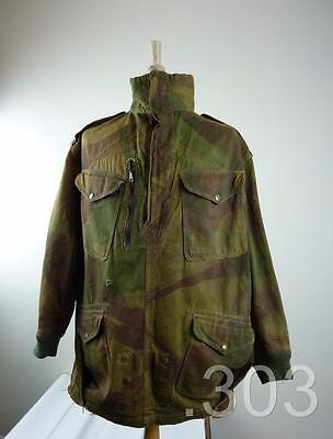 Early Post WWII British Army Military Denison Para Smock, Half Zip