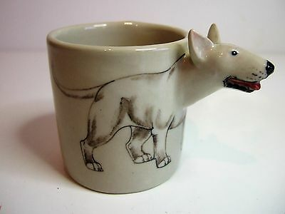 Scarce Collectable Blue Witch Bull Terrier Pot