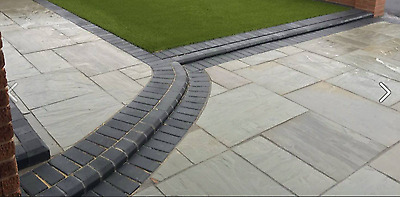 KANDLA GREY- Project /Patio Pack-25-35mm thick' 15m2 - Indian Sandstone Paving