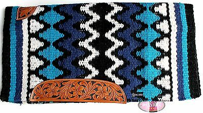 34x36 Horse Wool Western Show Trail SADDLE BLANKET Rodeo Pad Rug 36330C