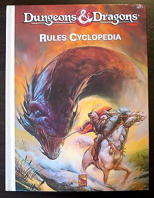Rules Cyclopedia Dungeons & Dragons - TSR 1991 - Excellent+ condition