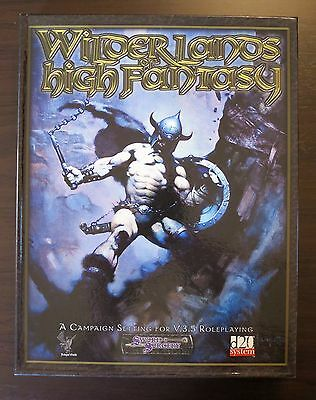 Wilderlands of High Fantasy Near Mint & Complete - Free shipping to USA & Canada
