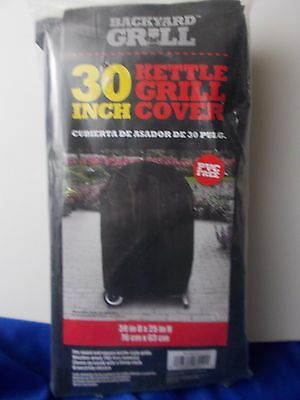 Backyard Grill 30 Inch Kettle Grill Cover Fits round square kettle style grills