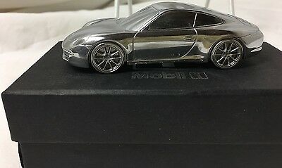 Limited Edition Solid Metal Porsche 911 Carrera S Rare Model by Mobil 1