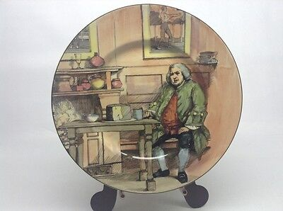 Royal Doulton Series Ware Dr. Johnson At The Cheshire Cheese Plate