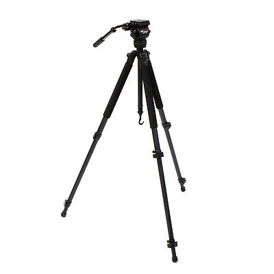Weifeng WF-717A 1.6m Professional Camera Tripod with Fluid Head for DSLR Video