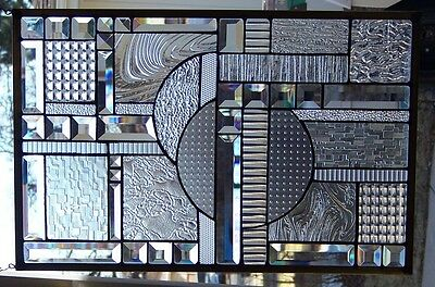 Stained Glass window hanging  24 X 15 3/4""