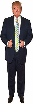 Donald Trump President Of The Usa Republican Lifesize Image On 6 Feet Canvas