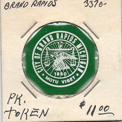 (I) Grand Rapids Parking Token 3370