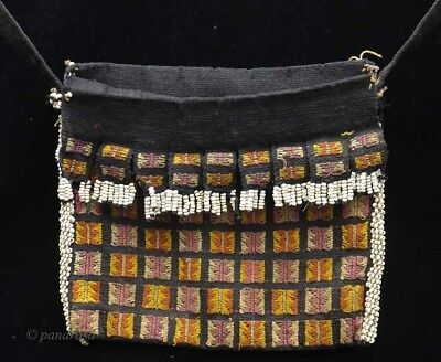 "Old tribal fine ""Aluk"" Betel nut bag from Atoni people, Timor Indonesia"