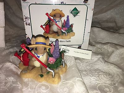 """Charming Tails """"YOU HAVE TO HAVE FAITH"""" DEAN GRIFF NIB"""
