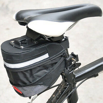 Extend Bicycle Cycling Bike Wedge Seat Saddle Bag Under Seat Tail Pouch Package