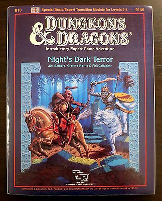 Night's Dark Terror B10 - Dungeons & Dragons - Complete & Great Condition