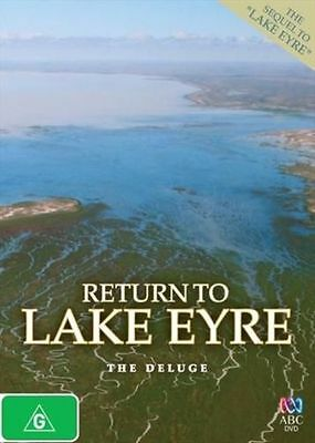 Return To Lake Eyre: The Deluge – Dvd, Abc Tv, Sequel, Sealed Brand New