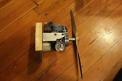 Vintage 2-stroke gas engine for R/C large Scale Model Airplane