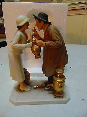 Norman Rockwell Figure 1983 Antique Dealer Limited Edition #2110
