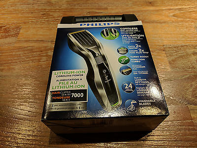 Philips HC7450/80 Hair Clipper Series 7000 With Lithium Ion Battery