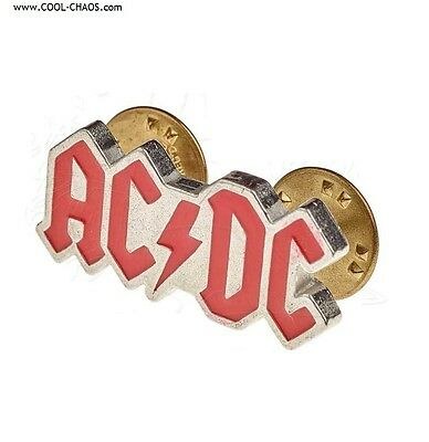 AC/DC Hat Pin / Official Licensed AC/DC Merchandise, Pewter Collector's Pin