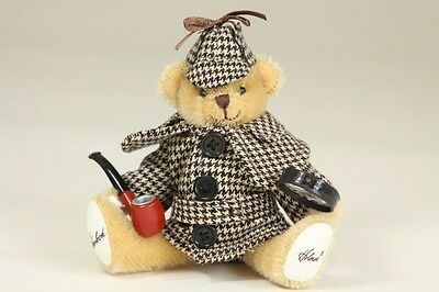 Sherlock Holmes Mohair 14cm  Miniature by Action Agents Ltd