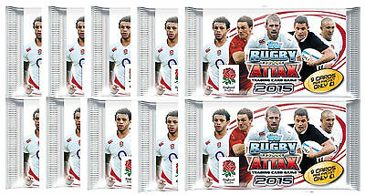 Topps RUGBY ATTAX Rugby World Cup Cards. 20 9-Card Packs (180 Cards Total)