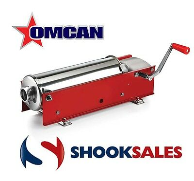 Omcan 13725 15kg Commercial Horizontal Sausage Stuffer 2 Speed New York